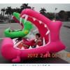 儿童气模电瓶车|机器人拉车|手摇船|电动动物充气蹦蹦床