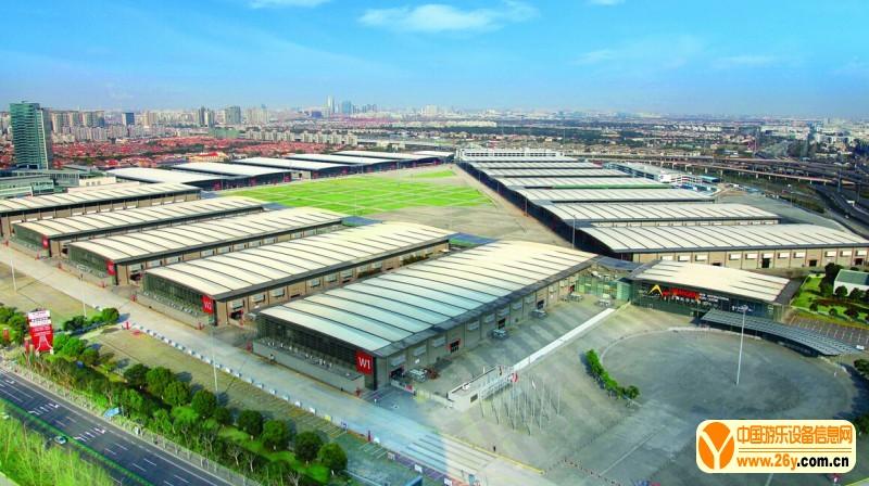 上海新国际博览中心俯览图