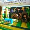 供应儿童充气蹦床 小型跳床 弹床  厂家出口产品 质量认证