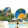 水上乐园设备大喇叭滑梯