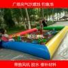 儿童游乐园沙滩池玩具 室外小型充气沙池图片子 钓鱼池