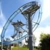 直销玻璃钢水滑梯水上乐园设计大型水上乐园设备大回环水滑梯