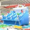郑州易欣游乐厂直销水上乐园充气水池支架水池