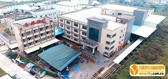 中山市金博游艺设备有限公司厂区俯览图