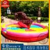 游乐场设备 疯狂斗牛场 新型儿童斗牛机游乐设备公园娱乐玩具