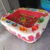 奕帅淘气堡玻璃钢商场游乐场儿童蛋糕钓鱼池玩具电动鱼缸厂家直销