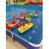 红外线遥控船方向盘遥控船儿童游乐设备遥控船