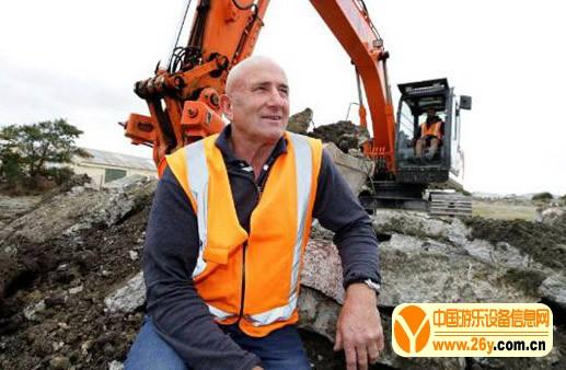 新西兰第一个挖掘机主题公园正式开放