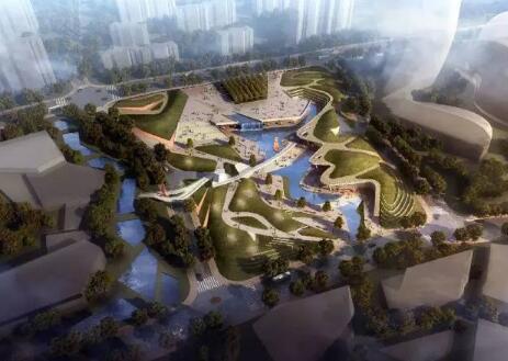 湘江欢乐城之欢乐广场