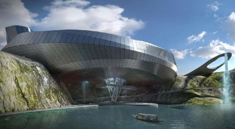 湘江欢乐城效果图