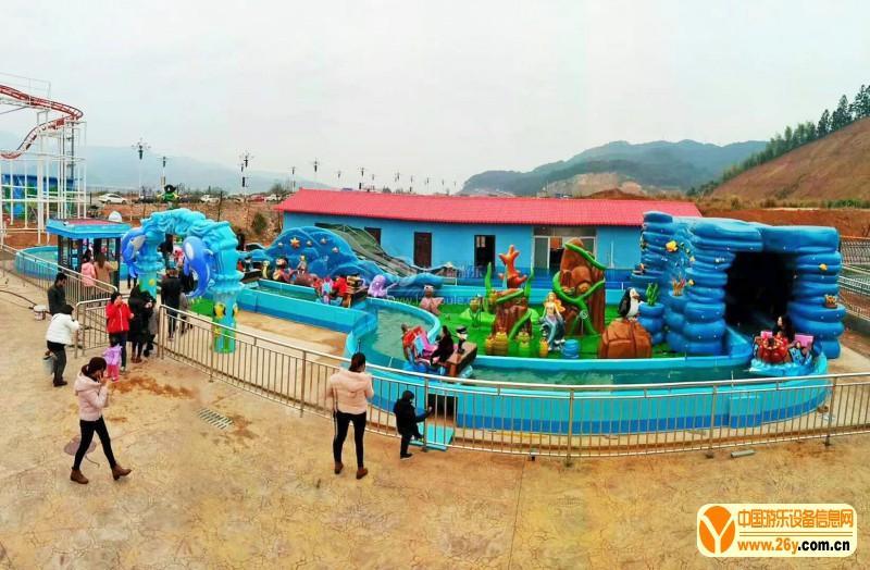 2019新款大型水上漂流儿童乐园