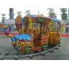 厂家直销轨道小火车新型爆款商场海盗船公园户外大型儿童游乐设备
