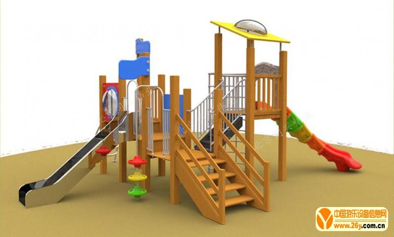 木质滑梯 (3)