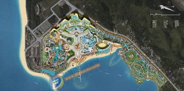 广西防城港白浪滩航洋都市里项目大型游乐设施设备采购