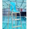 游池救生椅304不锈钢
