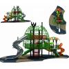 小区公园游乐设施 幼儿园木质滑梯拓展训练组合 非标不锈钢滑梯定制木制海盗船滑梯