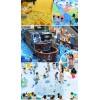 供应2020升级版网红亲子互动超级儿童乐园百万海洋球池互动投影海盗船