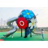 儿童主题公园游乐设施定制景区小区不锈钢滑梯户外拓展无动力游乐设备