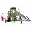 儿童组合滑梯 木质拓展训练 不锈钢滑梯定制 幼儿园滑梯木质组合 秋千组合滑梯