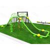 儿童拓展攀爬网架 小区公园游乐设备 木质滑梯组合 不锈钢滑梯定制 传声筒 秋千跷跷板