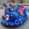 广场摆摊儿童彩灯碰碰车电动发光大象充气电瓶车