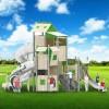 立建游乐厂家定制大型户外儿童乐园游乐设备 公园景区不锈钢滑梯组合滑梯