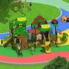 立建游乐非标定制大型木质游乐设备 户外公园儿童滑梯幼儿园攀爬组合滑梯